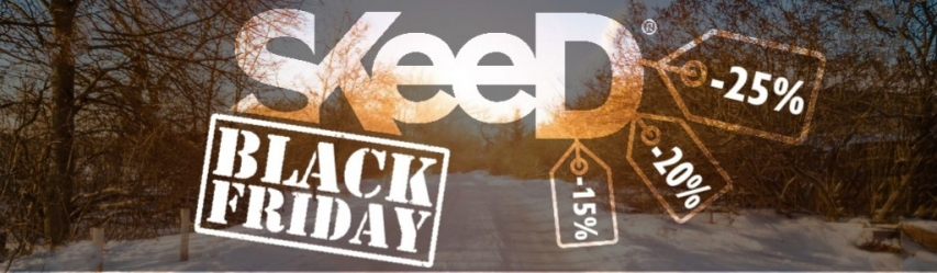 Black Friday Skeed : Réductions jusqu'à 25 % !